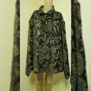 Coldwater Creek coat size 3x beautiful
